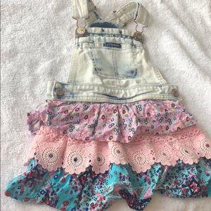 Skirt overalls Toddler